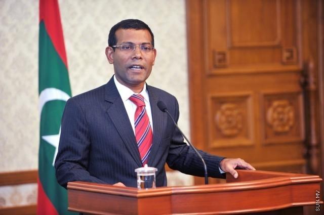 President Mohamed Nasheed resigns