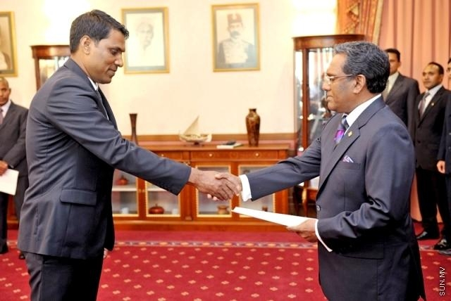 Transport Minister Dr Shamheed dismissed